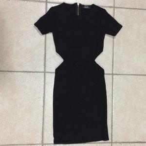 Lulus Black Cut-Out Dress